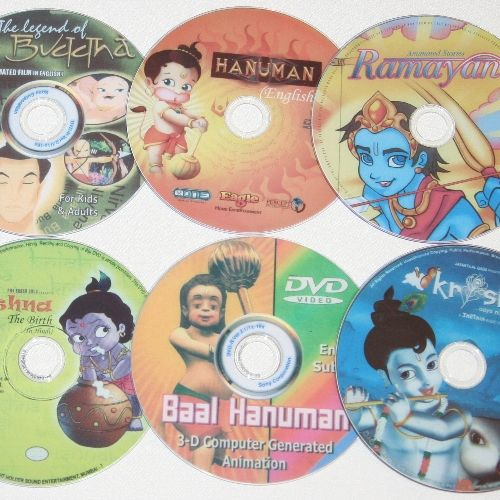Children's Cartoon DVDs