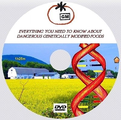EVERYTHING ABOUT DANGEROUS GENETICALLY MODIFIED FOODS ! [DVD - 1h25m]