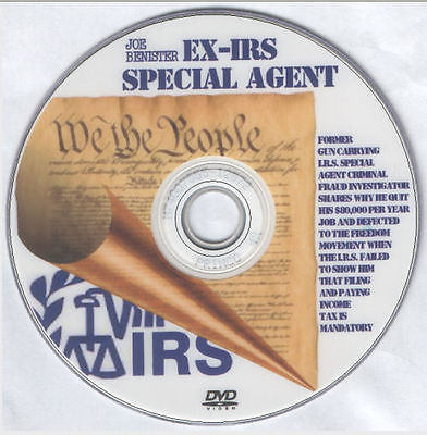 Ex IRS Special Agent Shocking [DVD - ]