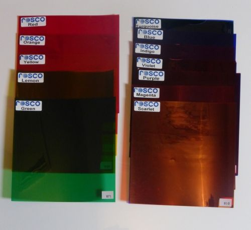 Roscolene Filter Kit For Spectro-Chrome Colour Therapy