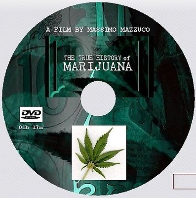 THE TRUE HISTORY OF MARIJUANA - MASSIMO MAZZUCCO [DVD - 1h17m]